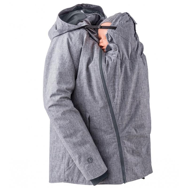 Vestes et manteaux MAMALILA outdoor MAMALILA - Veste de grossesse et de portage HIVER – GRIS