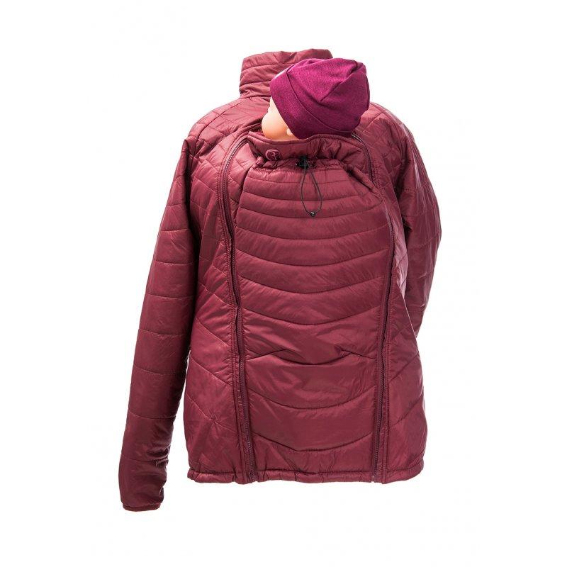 Vestes et manteaux MAMALILA casual MAMALILA - DOUDOUNE PLUME POUR DEUX - Rouge Marsala