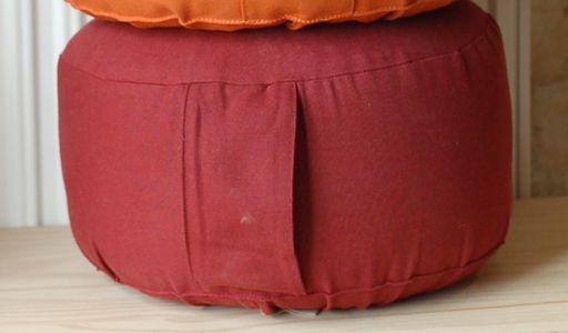 Coussins de méditation BIO Housse pour coussin méditation BASIC 14 cm - Bio
