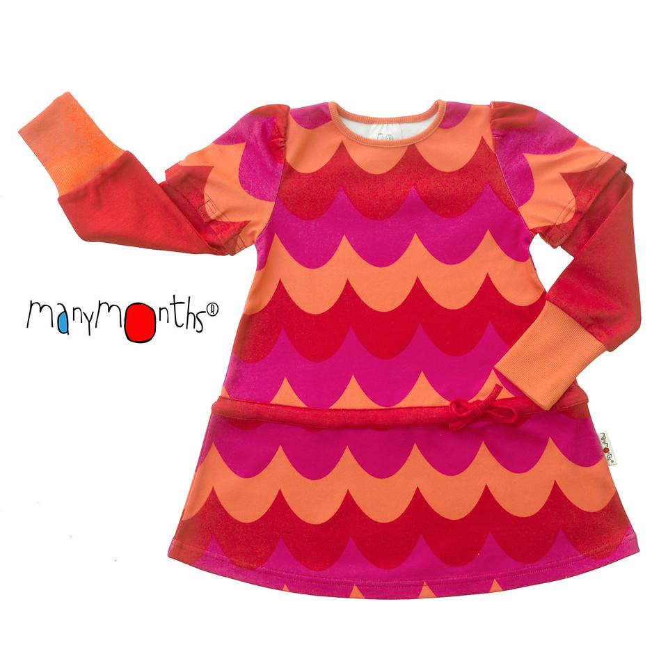 Robes et jupes MANYMONTHS – ROBE-TUNIQUE à manches amovibles en coton bio