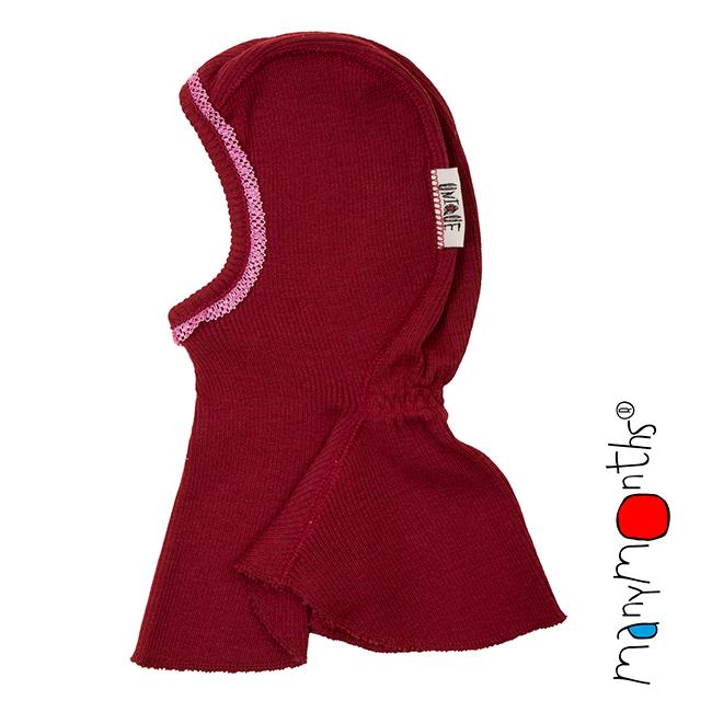 Bonnets hivers MANYMONTHS – CAGOULE «DENTELLE» en pure laine mérinos