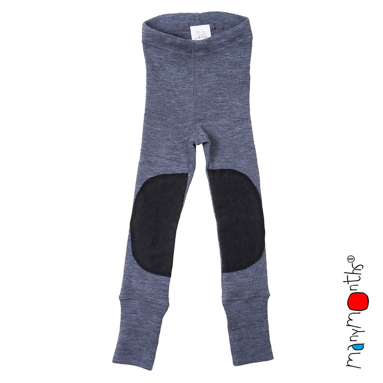Vêtement bébé-enfant MANYMONTHS - LEGGINGS PROTEGE GENOUX UNISEX pour enfants en pure laine mérinos