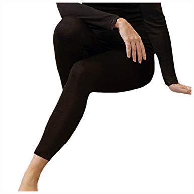 Racine NOUVEAU ENGEL - LEGGINGS(sous pantalon) NOIR Femme