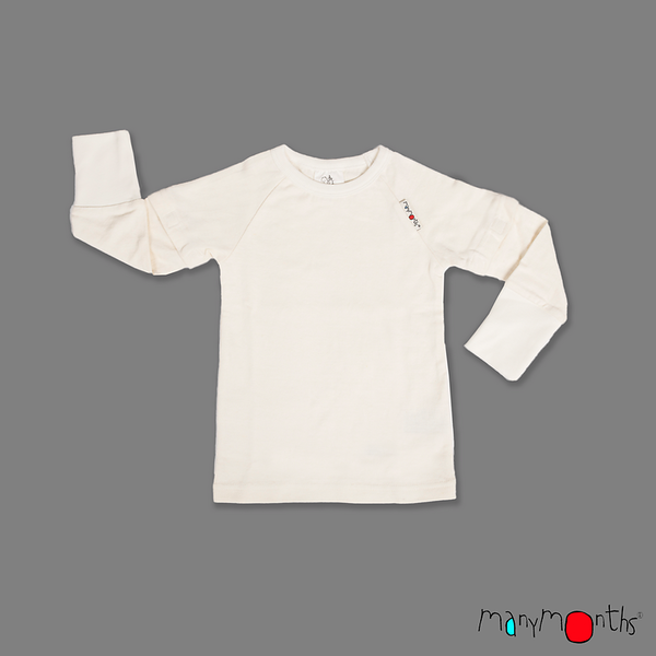 Débardeurs, T-shirts, pulls, gilets, multicapes et bodys ETE 2019 - T-SHIRT MANCHES AMOVIBLES UNISEXE AJUSTABLE 2 en 1