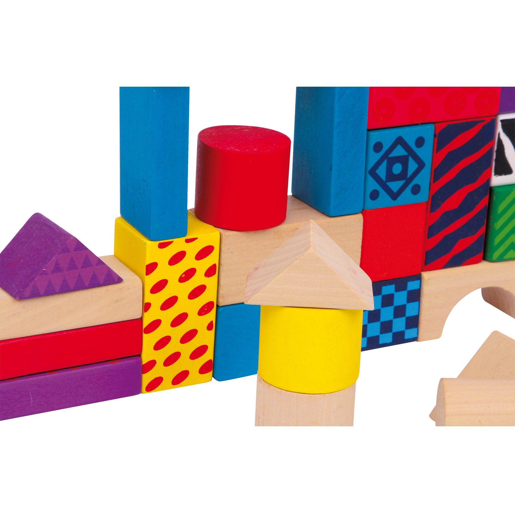 Jeux et Jouets Lelgler - Small foot Blocs de construction en bois