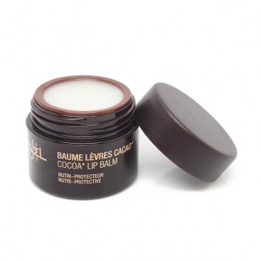 Soins corps, cheveux, ongles, visage NAJEL - Baume à lèvres au coco ou cacao - 10 ml Nutri-protecteur