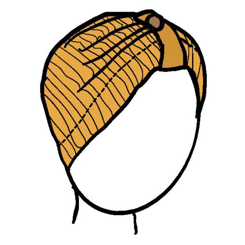 Racine MANYMONTHS 2019/20 - Button Beanie - Bonnet ajustable en pure laine mérinos