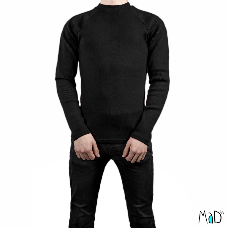 Vêtements MaM - MaD Laine MaD 2019/20 Natural Woollies – T-shirt Homme manches longues en laine