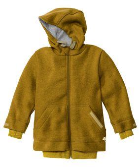 DISANA DISANA - Outdoor-Jacket à capuche en laine mérinos bouillie entièrement doublé en coton bio certifié