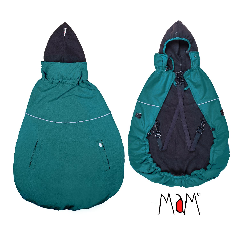Couvertures de Portage MaM 2019 - Deluxe Flex Cover - Couverture de portage réversible, chaude et waterproof