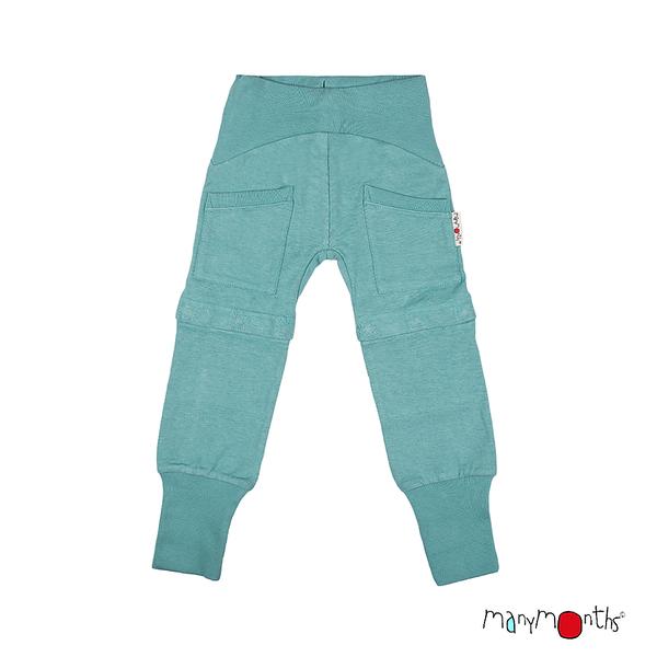 Eté 2020 - Chanvre et coton bio Eté 2020 - Pantalon/short Yoga Trousers ajustable et évolutif