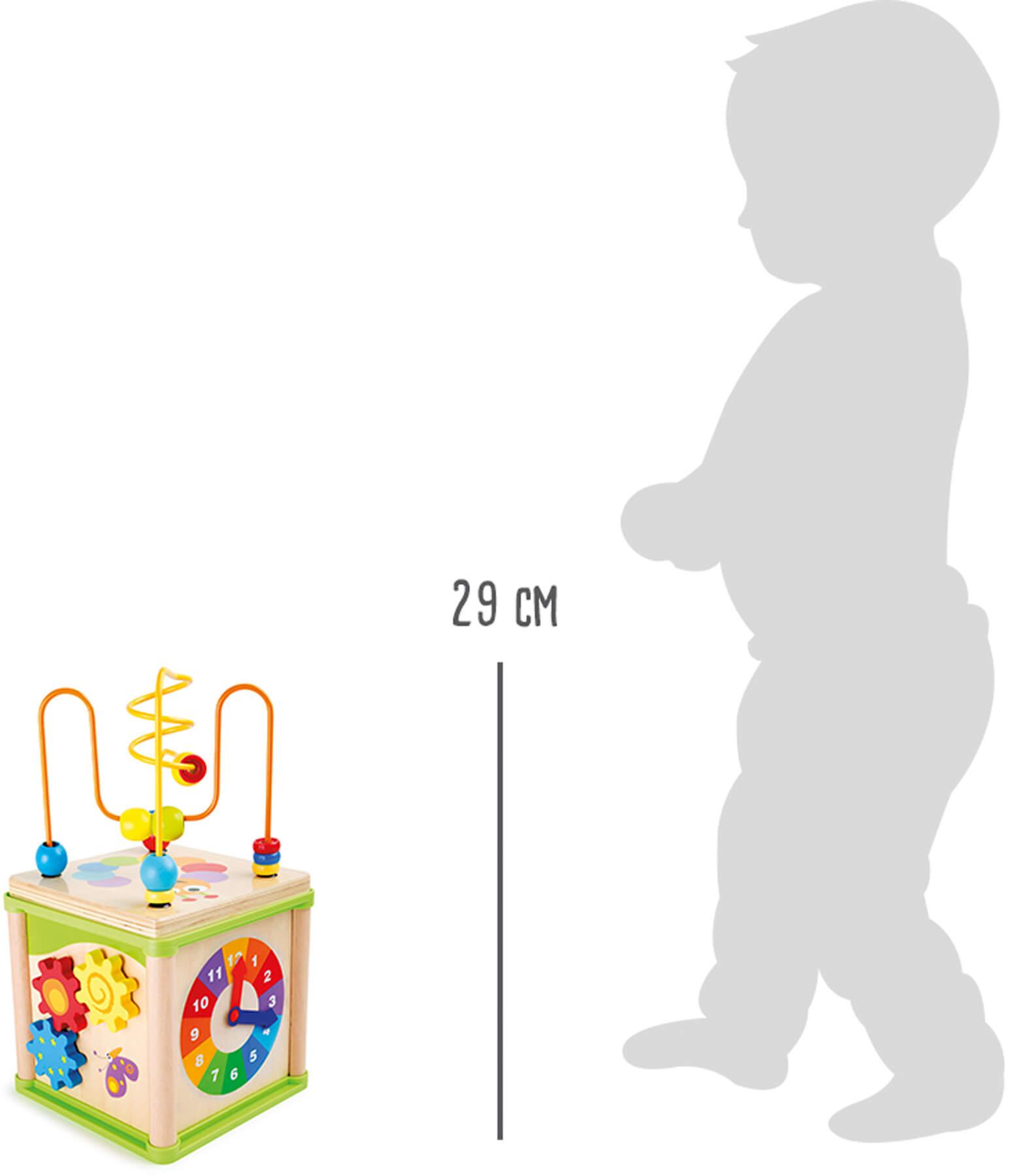 "Racine Legler 2020 - Cube d'activités ""Insectes"" 5en1"