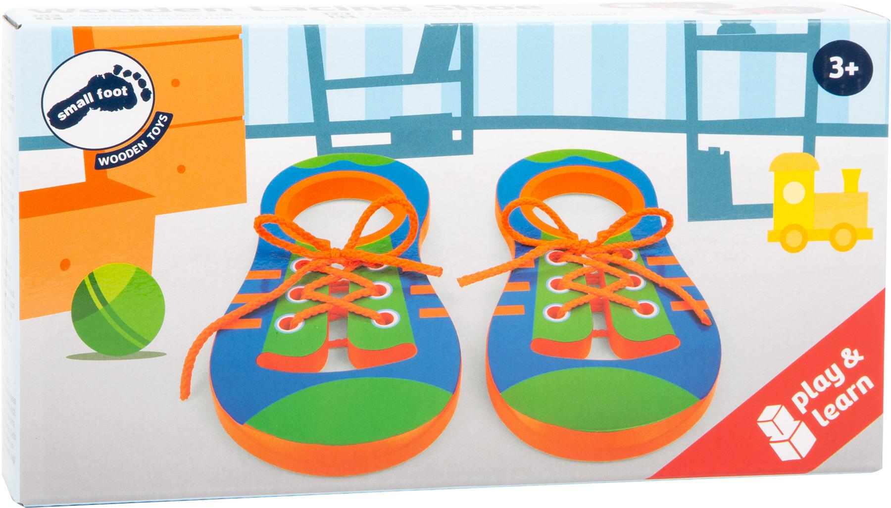 Racine Legler 2020 - Chaussures à lacet éducative en bois