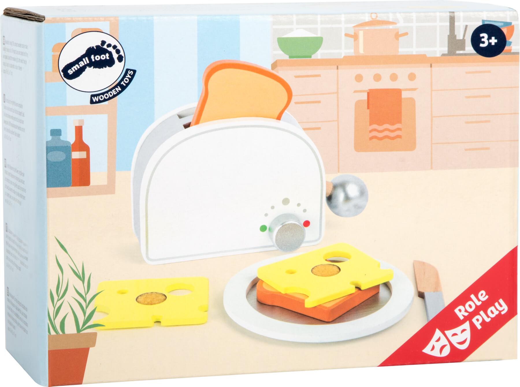 Jeux et Jouets Legler 2020 - Grille-pain en bois massif