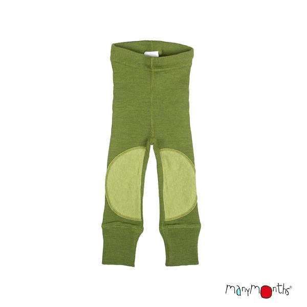 Coup de coeur MANYMONTHS 2020-21 - Leggings protèges genoux unisex pour enfants en pure laine mérinos