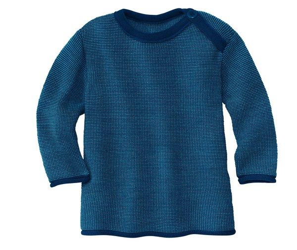 Coup de coeur Disana 21 - Pull fin en 100% laine mérinos Bio encolure américaine