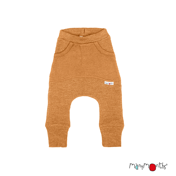 Pantalons et pantacourts Manymonths 2021-22 - Kangaroo Trousers avec poches en pure laine mérinos