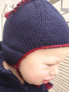 Destockage Bonnet enfant en laine MAMAPONCHO