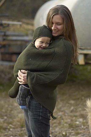 Vestes et manteaux MaM MAMAPONCHO  jambières en laine pour bébé
