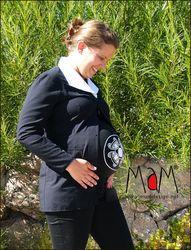 Idées Cadeaux MaM MULTITUBE coton – Bandeau de grossesse et top d'allaitement