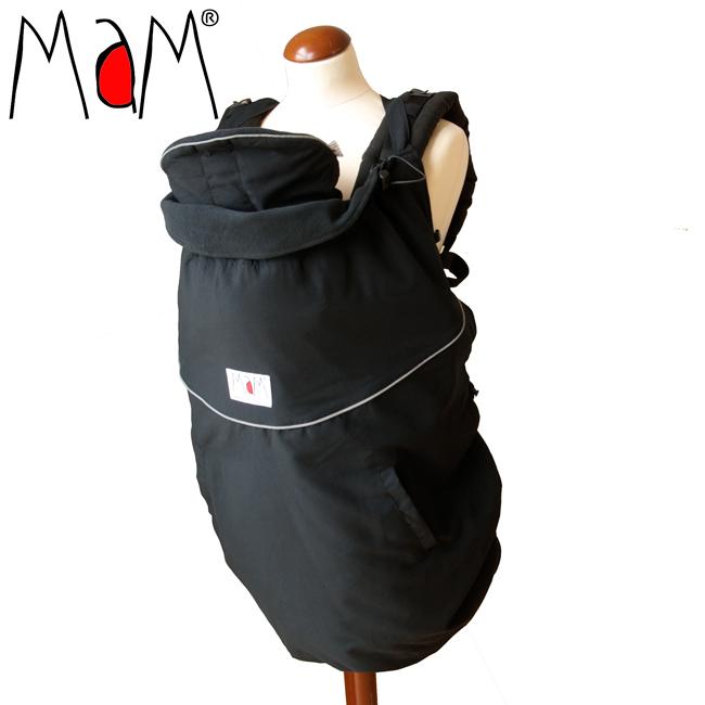 Col de portage MaM - DELUXE ORIGINAL COVER - Couverture de portage réversible, chaude et waterproof
