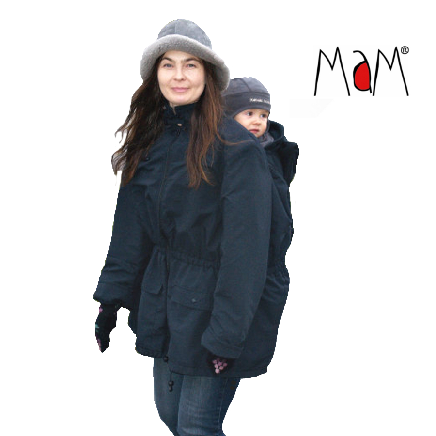 Porte-bébés MaM COAT – NOIR