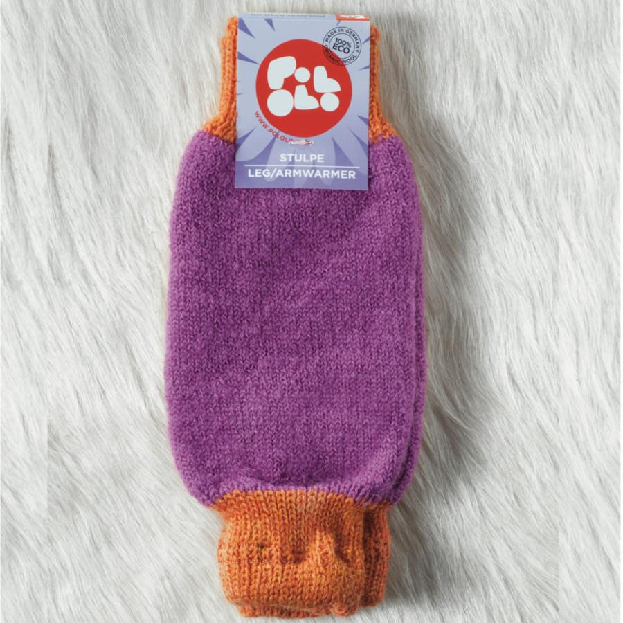 POLOLO KIGA - chaussons souples en cuir naturel avec semelle antidérappante (24-33) JAMBIÈRES et GUÊTRES en laine POLOLO