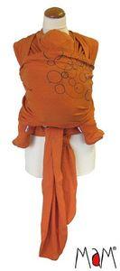 Col de portage MaM WRAP - L'écharpe porte-bébé souple en chanvre/coton avec bonnet et chausssons assortis