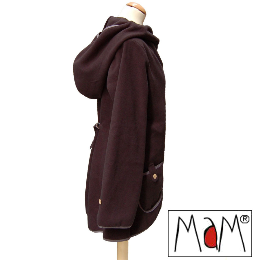 Racine MaM MOTHERHOOD COAT – Veste de maternité évolutive en Polaire