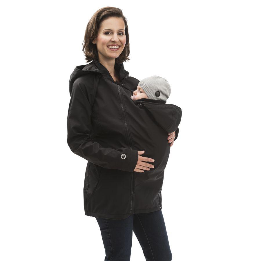 Racine MAMALILA - Veste de grossesse et portage été SYMPATEX – NOIR