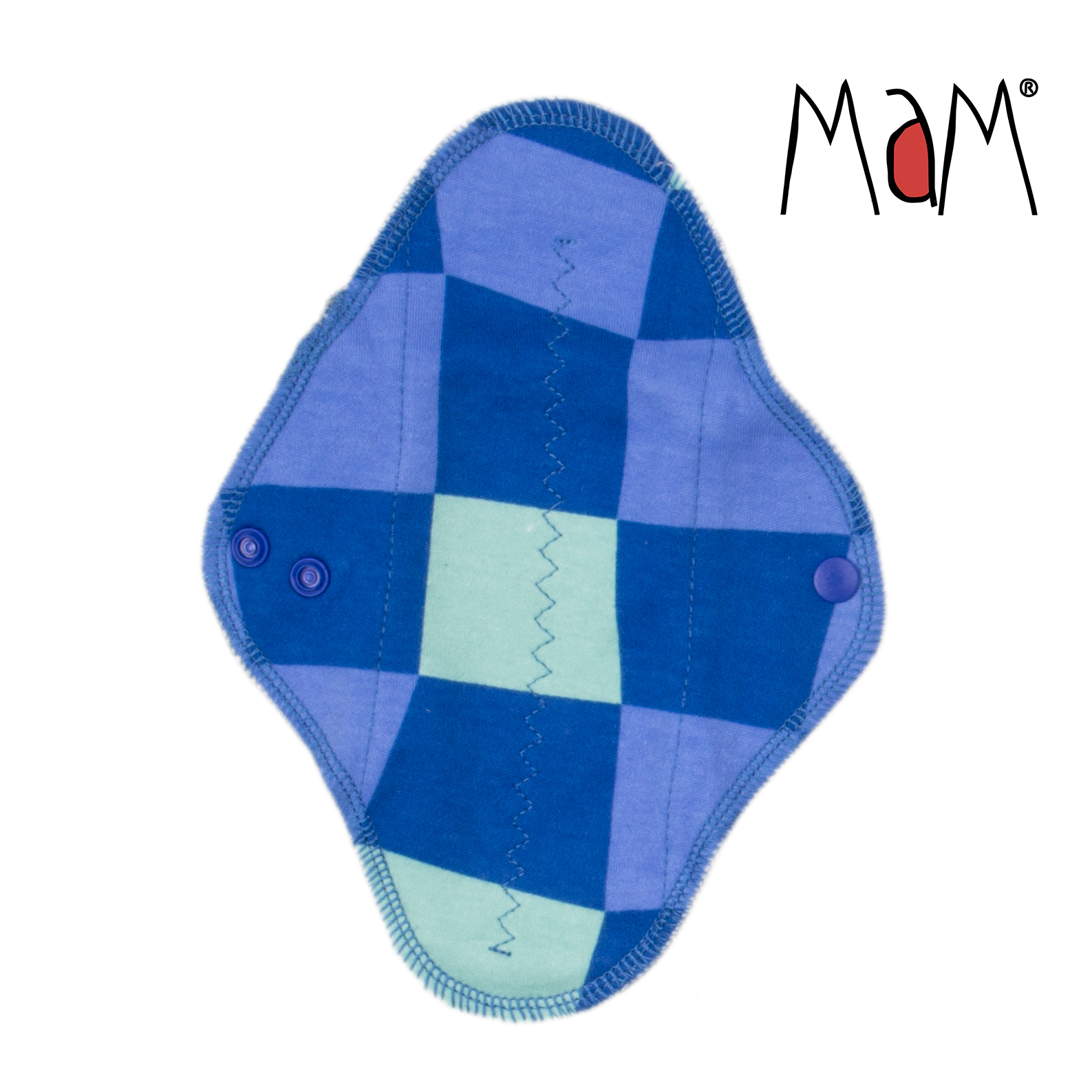 Mam EcoFit, Lunacopine, coussinets d'allaitement et carrés démaquillants MaM ECOFIT REGULAR - Serviettes hygiéniques lavables