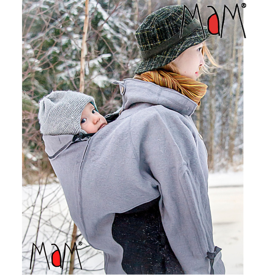 Vestes et manteaux MaM MaM 2en1 VESTE-TUNIQUE de maternité en LAINE