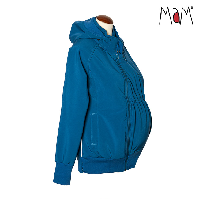 Vestes et manteaux de portage MaM SOFTSHELL JACKET FOURRÉ - MYKONOS