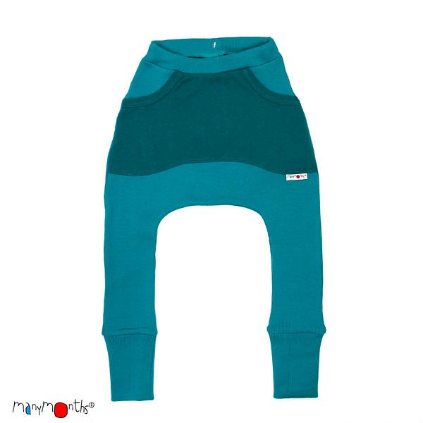 Pantalons et pantacourts MANYMONTHS 2018/19– KANGAROO PANTS - Sarouel en pure laine mérinos