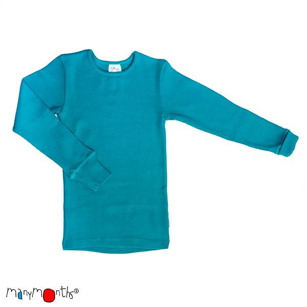 Idées Cadeaux MANYMONTHS 2018/19- T-SHIRT ENFANT Manches longues en pure laine mérinos