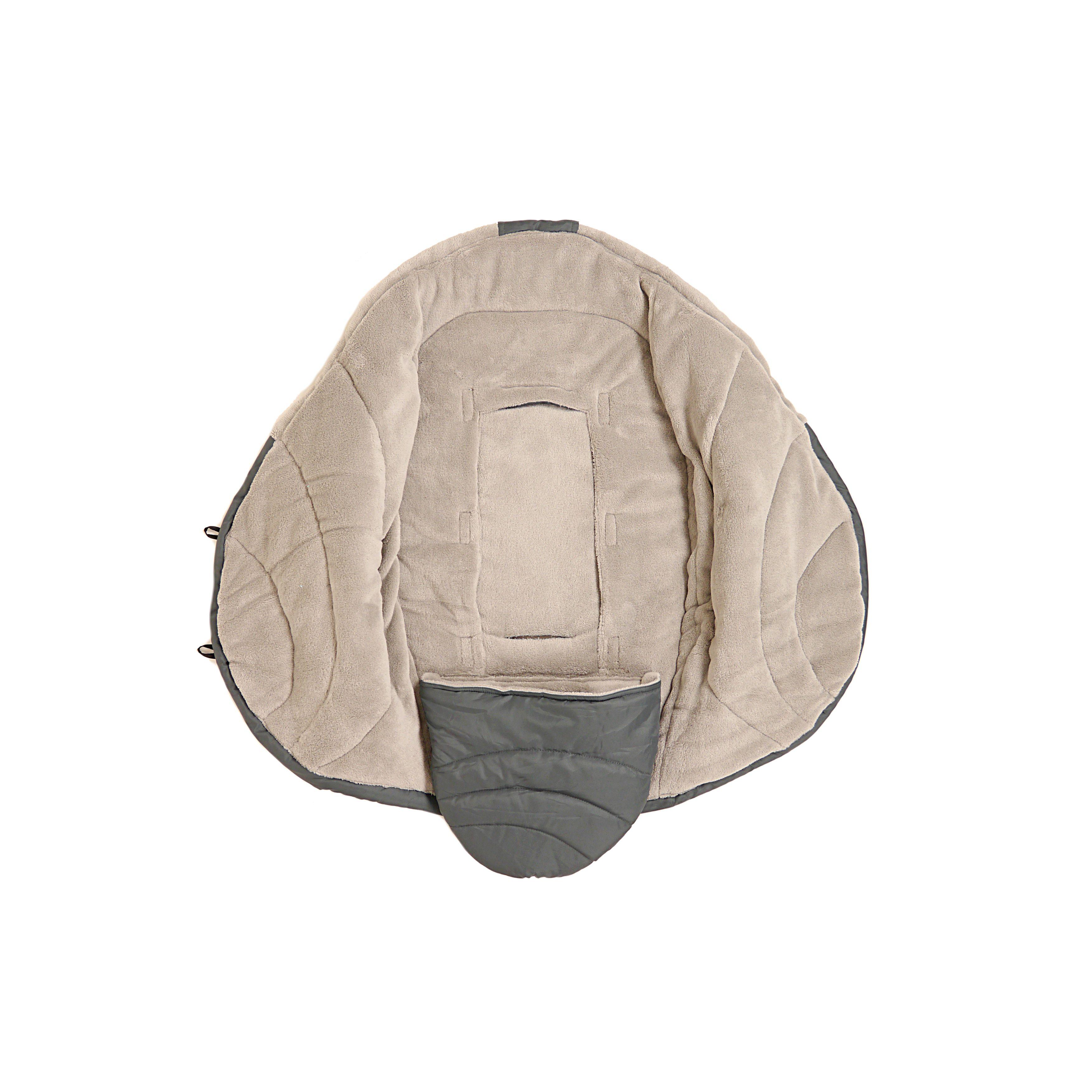 Peaux d'agneau KAISER - CHANCELIERE COO COON - Couverture enveloppante intérieur POLAIRE