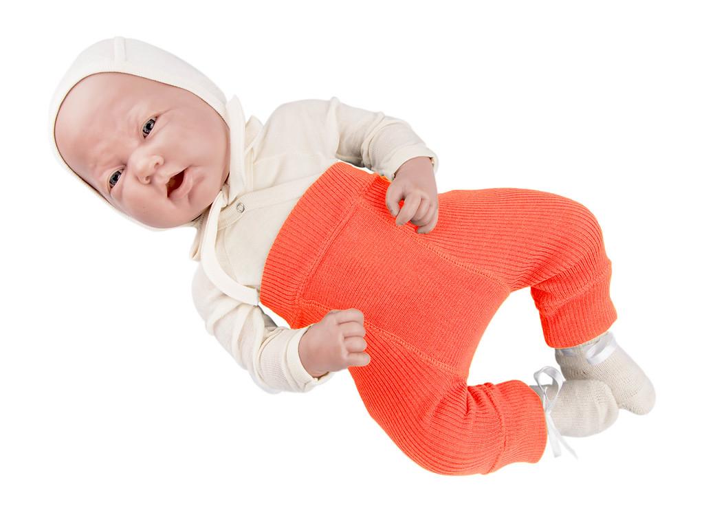 Laine 100% Mérinos 2019-2020 MANYMONTHS 2019/20 – Longies réversible -pantanlon bébé en pure laine mérinos