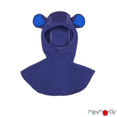 """Bonnets hivers MANYMONTHS 2019/20 - Cagoule """"TEDDY"""" Ourson en pure laine mérinos"""