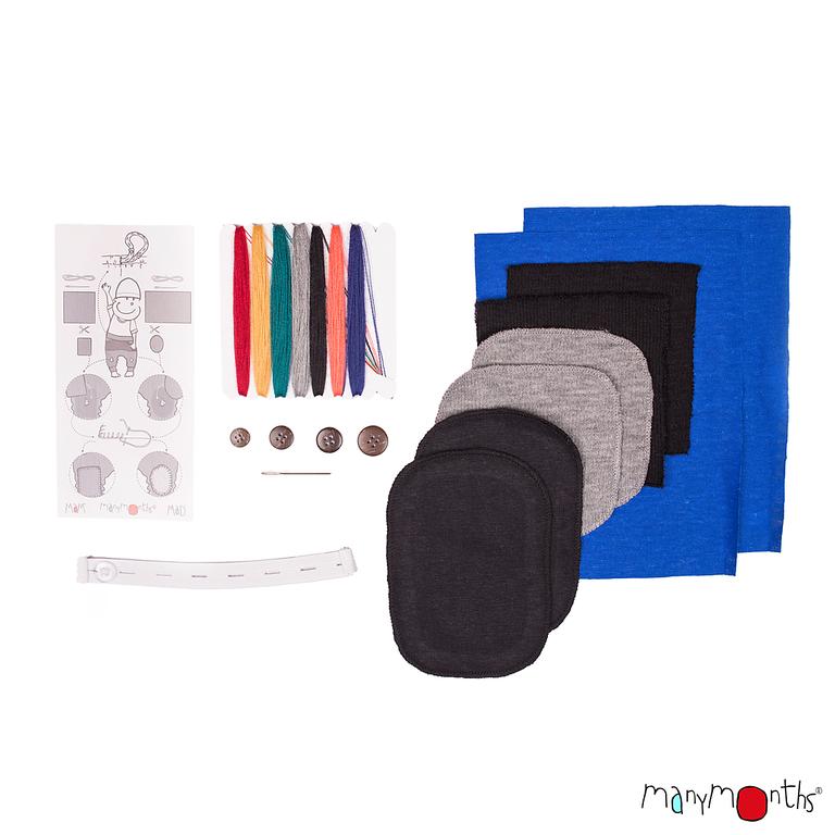 Gigoteuses et combinaisons, manteaux MANYMONTHS 2019/20 - Kit de réparation