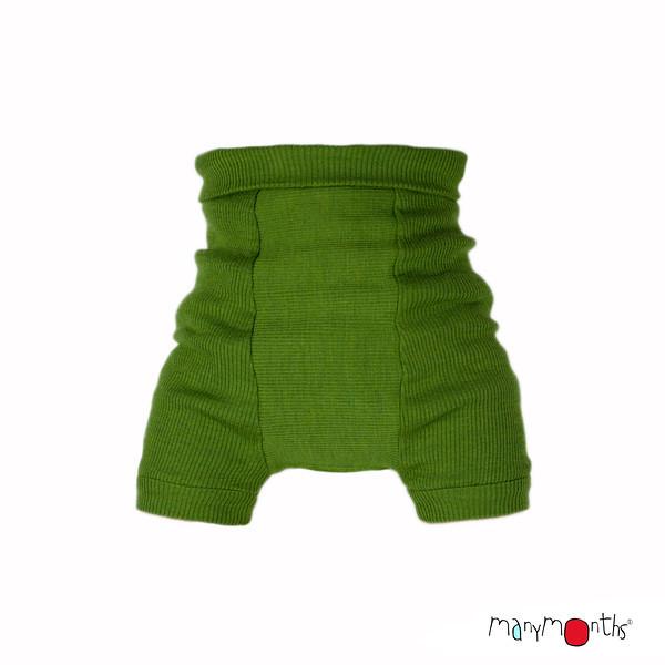 Débardeurs, T-shirts, pulls, gilets, multicapes et bodys MANYMONTHS 2020-21 - Shorties en pure laine merinos