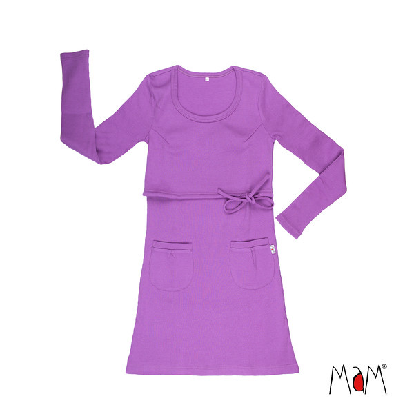 Coup de coeur MaM 2020-21 Natural Woollies - Tunique/robe de matenité /Allaitement en laine mérinos