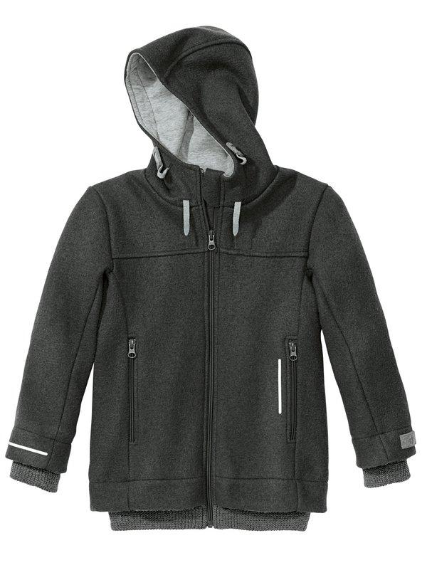 Coup de coeur Disana 21 - Manteau Outdoor-Jacket à capuche en laine mérinos bouillie entièrement doublé en coton bio
