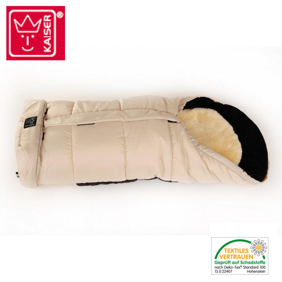 Peaux d'agneau KAISER SHEEPY - sac en peau d'agneau pour poussette 2en1