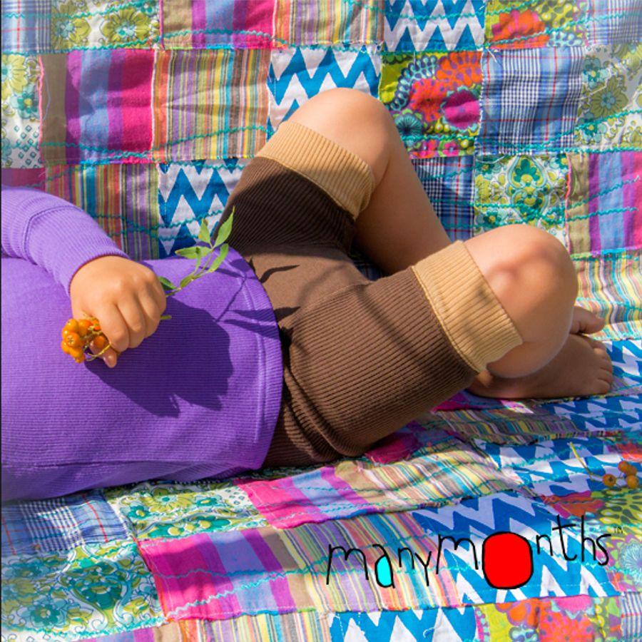 Pantalons et pantacourts MANYMONTHS – SHORTIES en pure laine mérinos