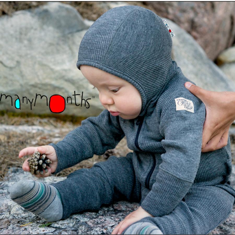 A TRIER MANYMONTHS - COMBINAISON en pure laine mérinos