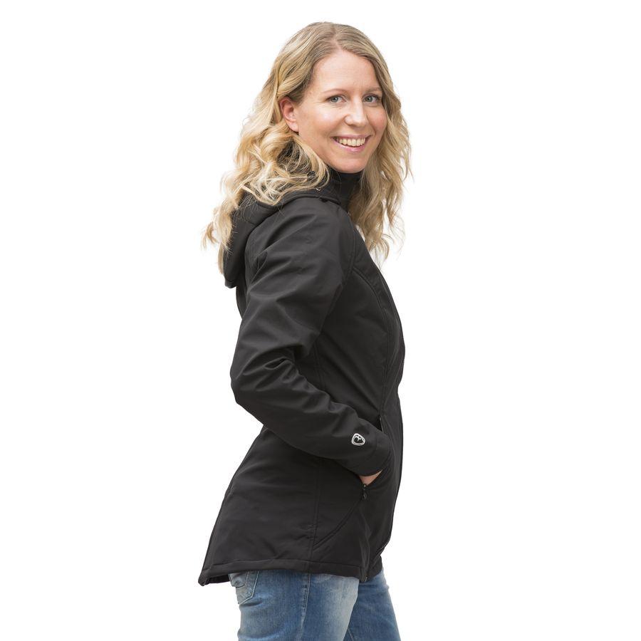 porte bonheur mamalila vestes de portage et grossesse en softshell coloris noir veste pour. Black Bedroom Furniture Sets. Home Design Ideas