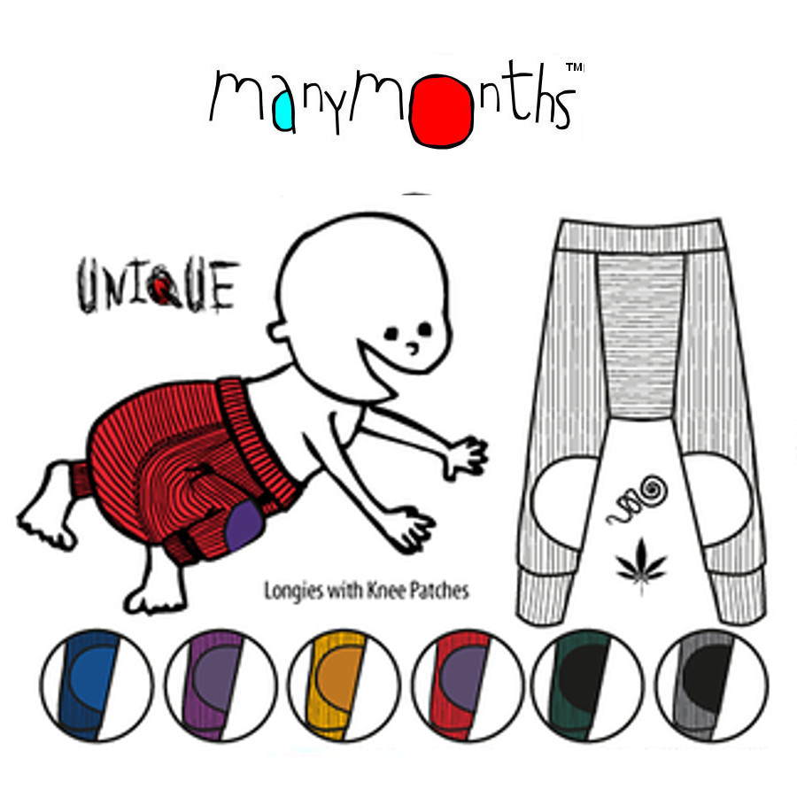 Racine MANYMONTHS – LONGIES avec protège-genoux