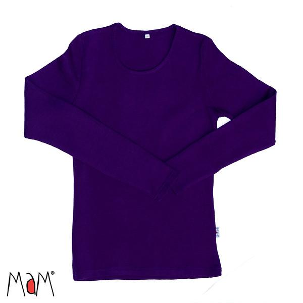 A TRIER MaM Natural Woollies 2018/19 – t-shirt adulte manches longues en laine