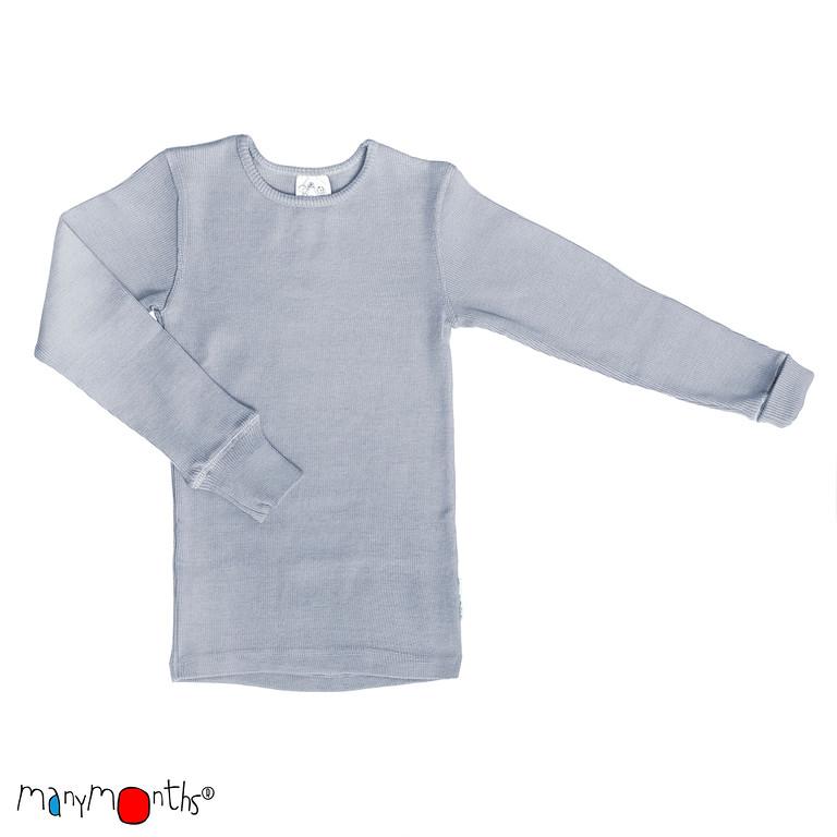 A TRIER MANYMONTHS 2018/19- T-SHIRT ENFANT Manches longues en pure laine mérinos