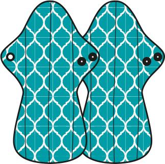 Mam EcoFit, Lunacopine, coussinets d'allaitement et carrés démaquillants MaM ECOFIT 2020 MAXI NUIT - Serviettes hygiéniques lavables  (livraison en cours)